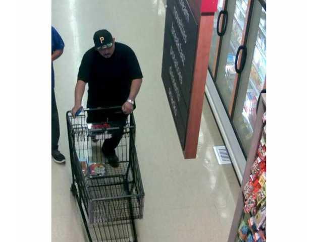 Suspect sought in Santa Clarita Valley theft