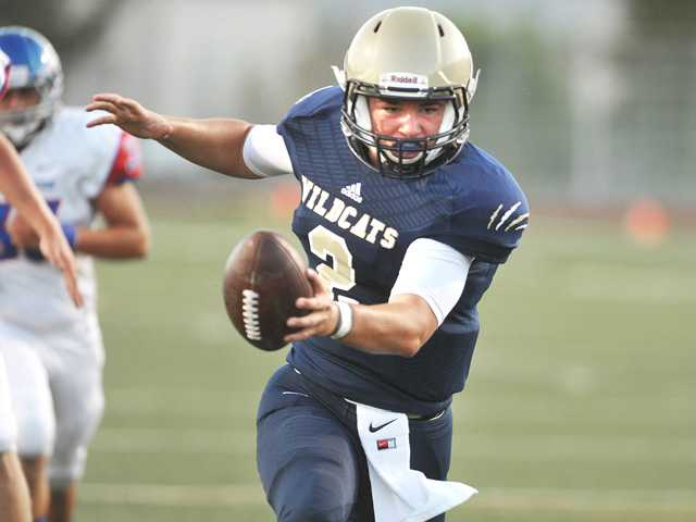 Jackson Clark leads West Ranch football in blowout win