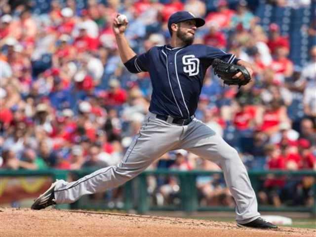 Hart High grad Shields leads Padres past Phillies 9-4