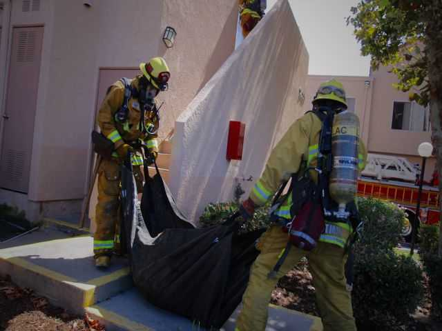 SCV apartment fire quickly extinguished
