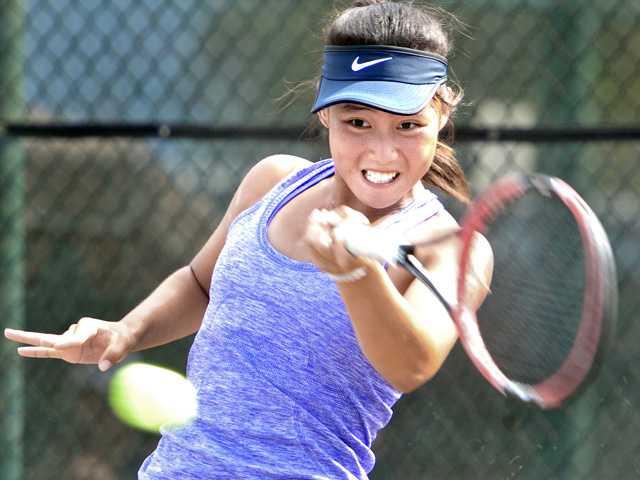 Defending CIF champion Valencia tennis prevails