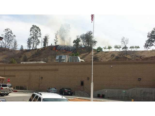 Castaic blaze extinguished