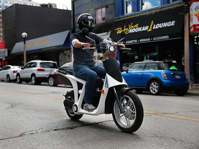 SUV maker rides into US market on a scooter