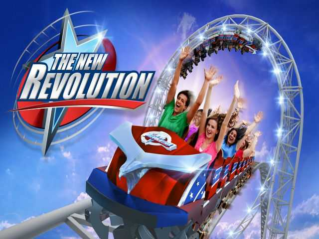 Six Flags Magic Mountain announces 'Revolution' makeover at Valencia park