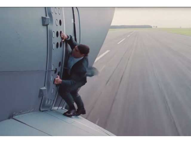 Have You Seen This? Tom Cruise does his own stunts