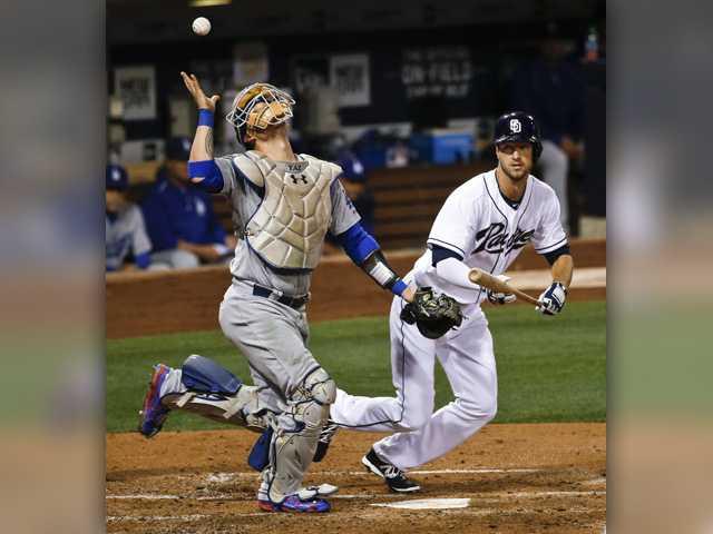 Dodgers drop series opener