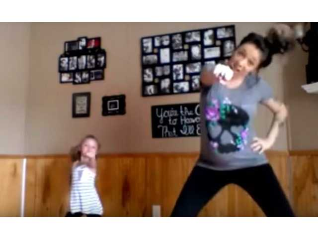 This dynamic dance floor duo will have your entire family rolling