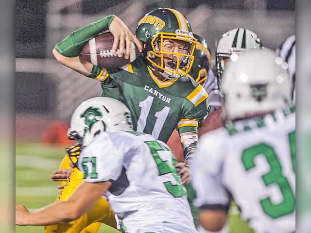Canyon football can't bounce back against Thousand Oaks