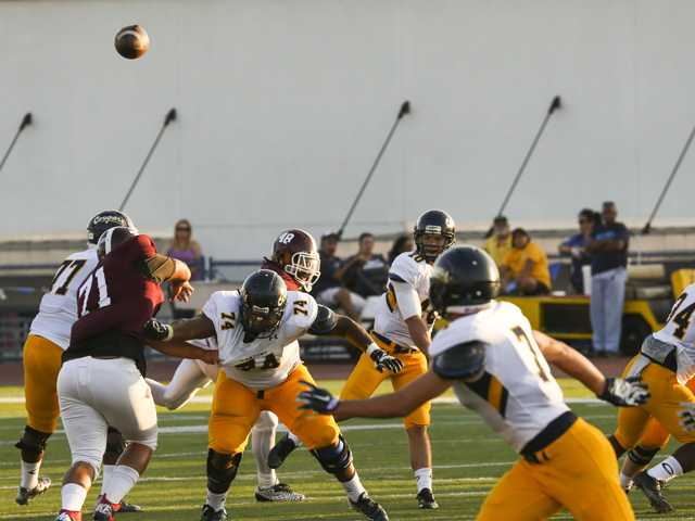 COC football upsets state's No. 1 team in season opener
