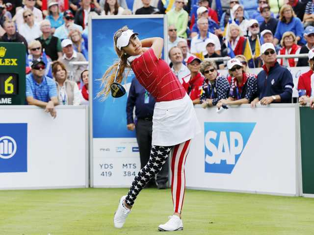 Alison Lee, U.S. struggle on day 1 of Solheim Cup