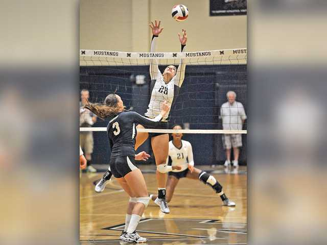 TMC V-Ball falls after taking 2 set lead
