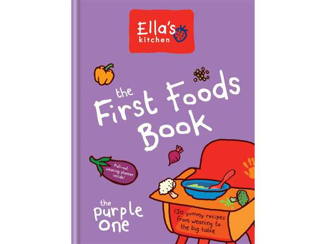 Cookbook review: 'Ella's Kitchen: The First Foods Book' is a winner for weaning babies