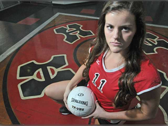 Brooke Boron recovers from injury to lead Hart V-Ball