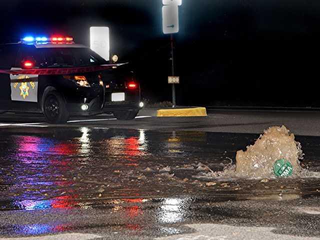 UPDATE: Water main break shuts down Stevenson Ranch intersection