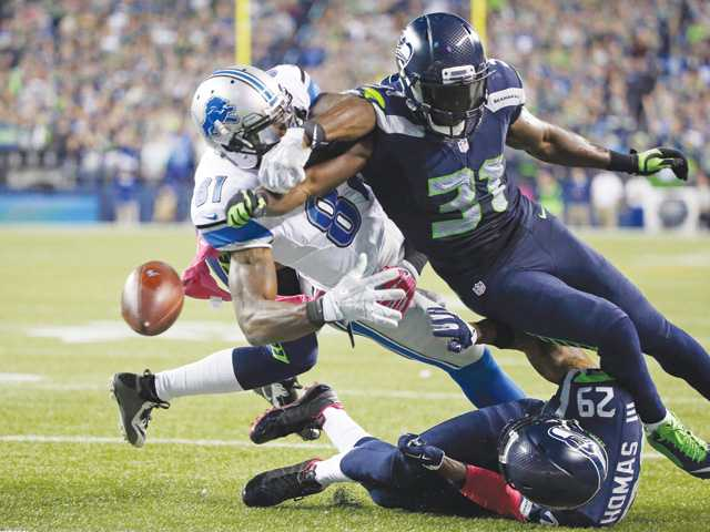 Chancellor's big play allows Seattle to beat Detroit