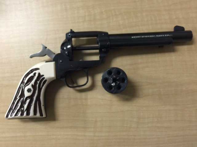 Gun stolen in 1981 burglary recovered