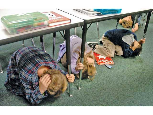 Santa Clarita to join statewide earthquake preparedness drill