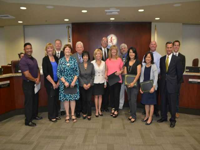 Hart board recognizes 'Classified Employees of the Year'