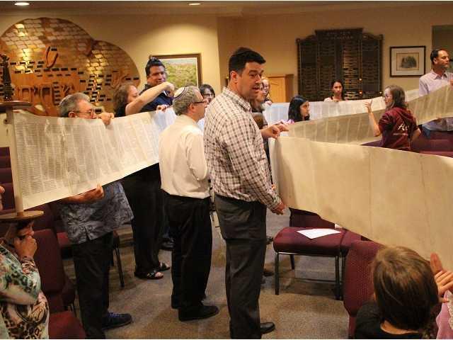 Unique Jewish tradition honors Torah