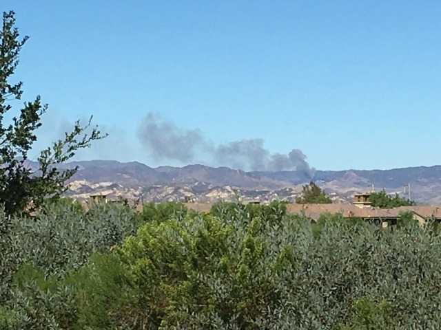 UPDATE: Brush fire burns at least 10 acres near Templin Highway