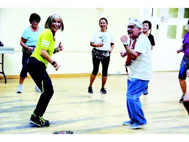 Zumba Gold at the SCV Senior Center Active Seniors Keeping Fit and Having Fun