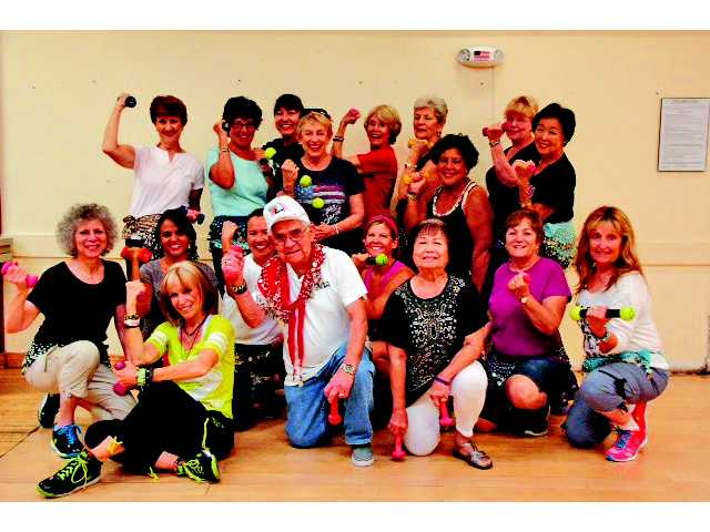 Zumba Gold at the SCV Senior Center Active Seniors Keeping Fit and Having Fun