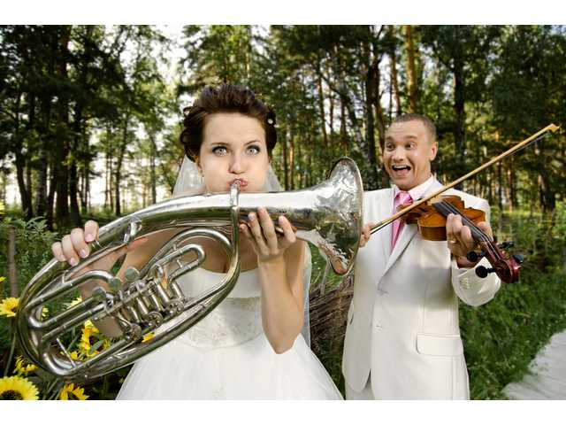Have You Seen This? Terrible trumpet wedding march