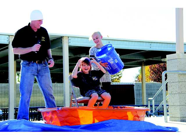 Emblem Academy's Trike Race and Principal Sliming Day