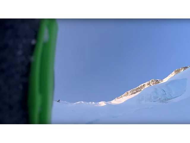 Video shows skier tumble 1,600 feet down mountainside
