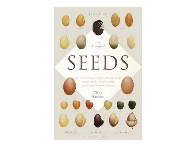 Author tells how seeds have been vital to world history
