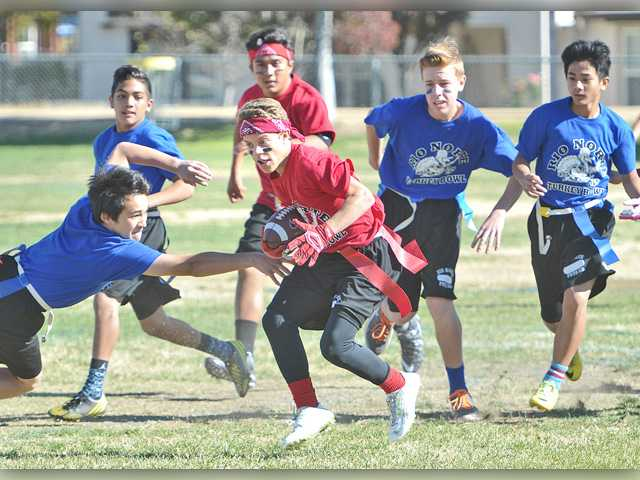 Annual Turkey Bowl held in Valencia