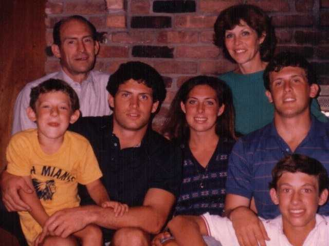 Sherry Young with her family in 1983.
