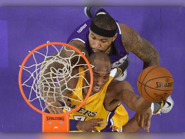 Cousins' 36 points lead Sacramento past Lakers again