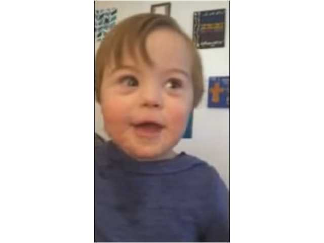Have You Seen This? Toddler with Down syndrome adorably recites ABCs