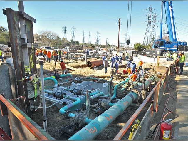 Gas company begins work in Valencia