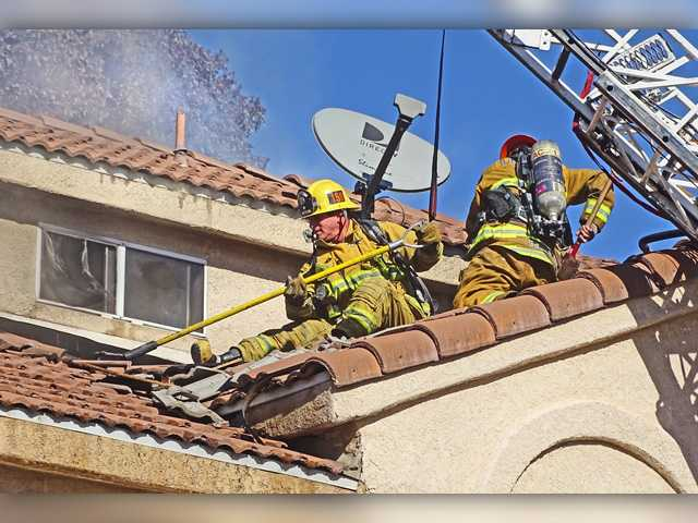 UPDATE: SCV condo fire injures 1, displaces 7