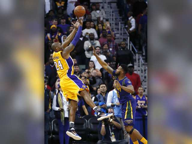 Resurgent Kobe Bryant leads Lakers past Pelicans