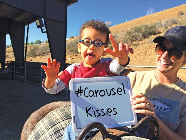 """""""Carousel Wishes and Valentine Kisses"""" Open House at Carousel Ranch"""