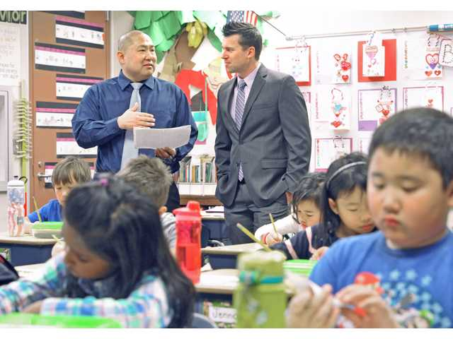Principal for a Day joins educators, business community