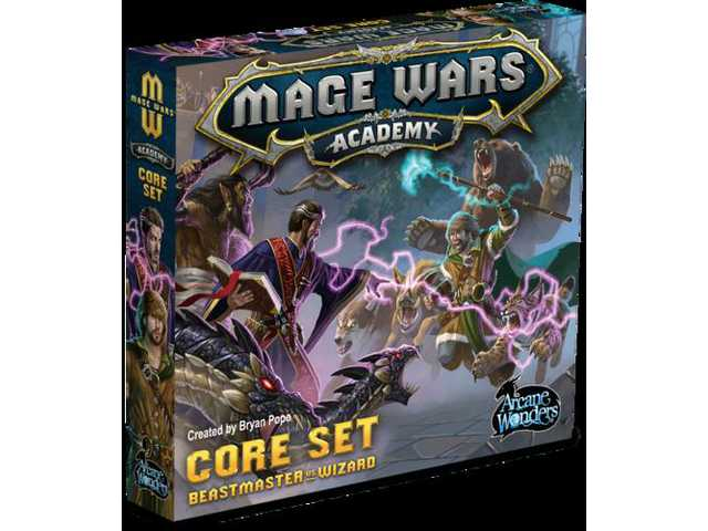 Game review: Mage Wars Academy: A tale of two wizards