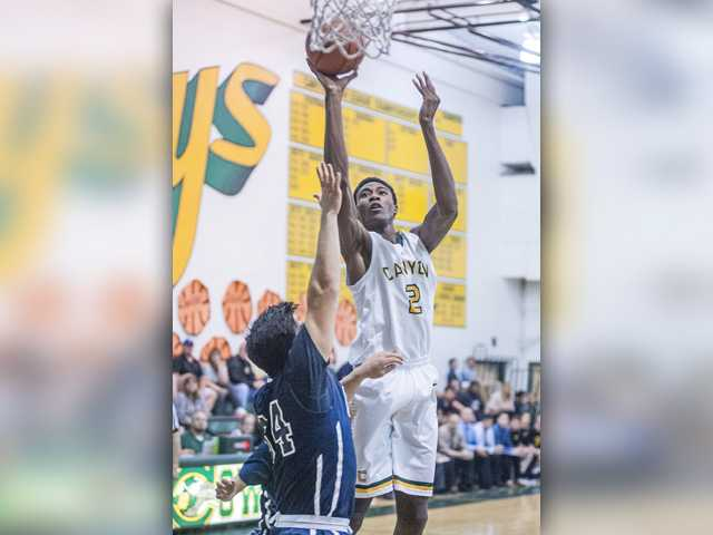 Canyon boys hoops gets crucial league victory over West Ranch