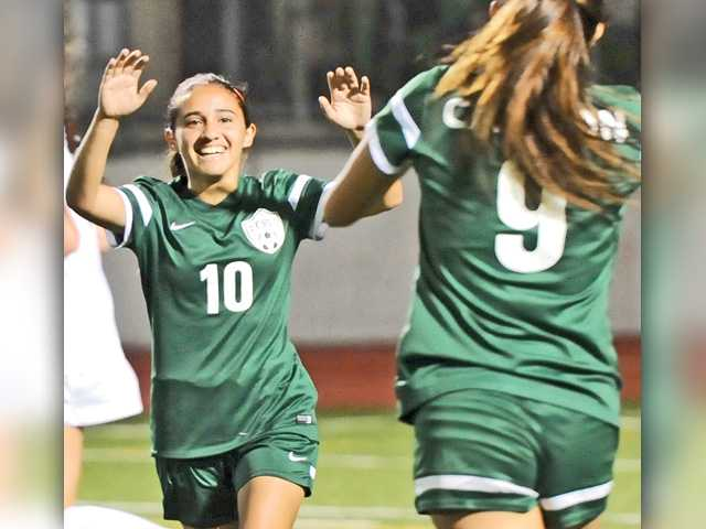 Foothill girls soccer roundup: Canyon plays role of spoiler
