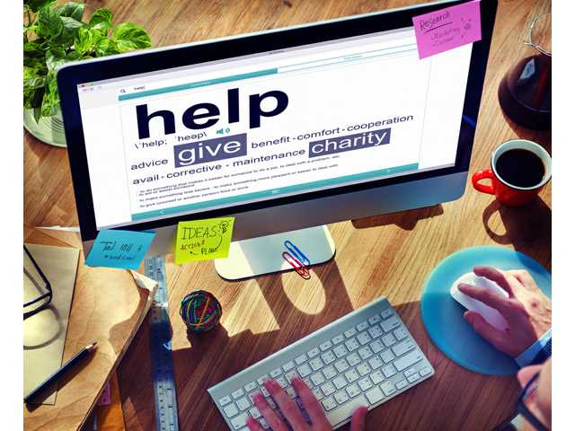 Charitable giving is up, especially online giving