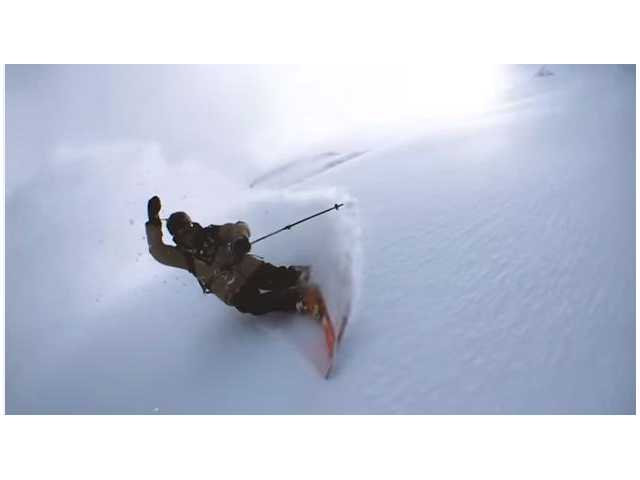 Have You Seen This? 360-degree ski views with swinging iPhone