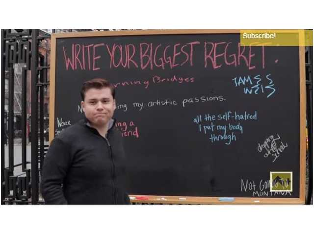 Strangers write their biggest regrets, and they all have one alarming thing in common