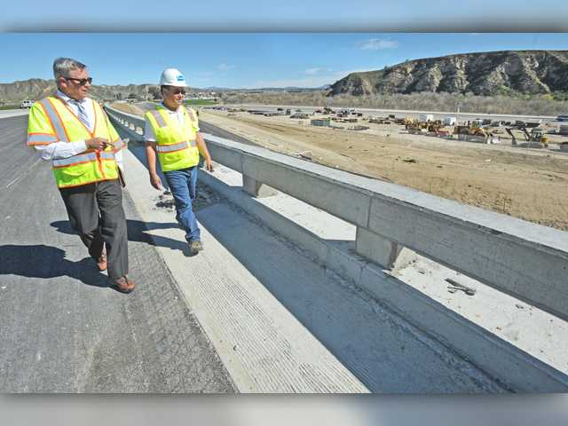 New Highway 126 bridge will partially open next month