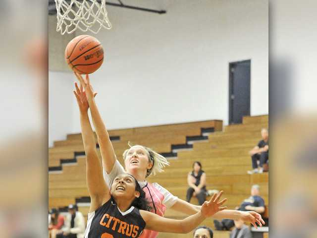 COC women's hoops claims a share of conference title