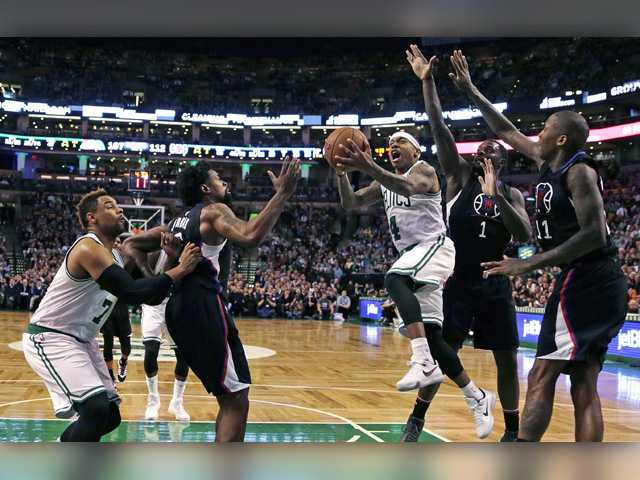 Celtics rally late, overtake Clippers in overtime