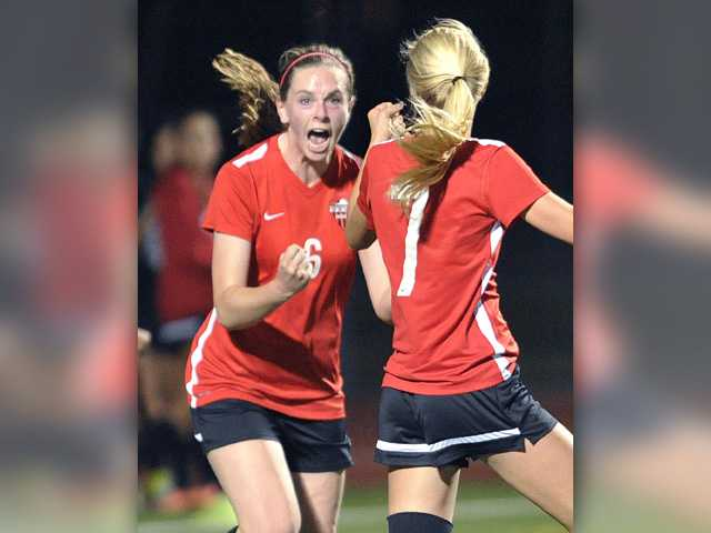 Foothill girls soccer roundup: Hart and Valencia draw, giving Indians the crown