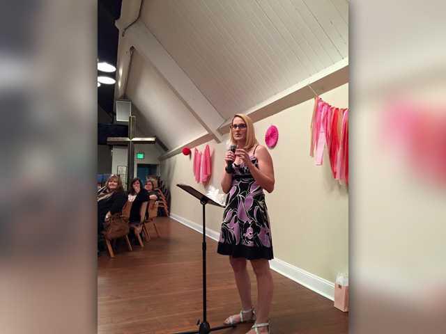 Women share faith at Valentine's event